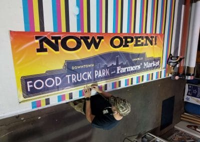 Downtown Amarillo's Food Truck Park at Farmer's Market